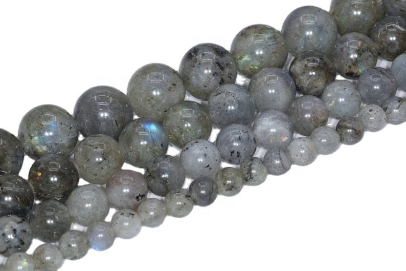Labradorite Smooth Round loose Gemstone Beads make jewelry